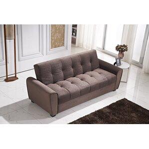 click clack sofa with storage | wayfair