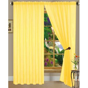 Lovely Yellow U0026 Gold Curtains U0026 Drapes Youu0027ll Love | Wayfair To Mustard Yellow Curtains