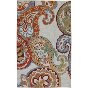 Rubalcaba Multi Ornamental Paisley Escape Rug