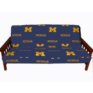Ncaa Box Cushion Futon Slipcover