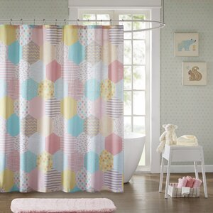 Hayley Cotton Shower Curtain