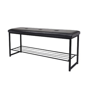 Orvis Leather Bedroom Storage Bench  sc 1 st  Wayfair & Black Storage Benches Youu0027ll Love | Wayfair