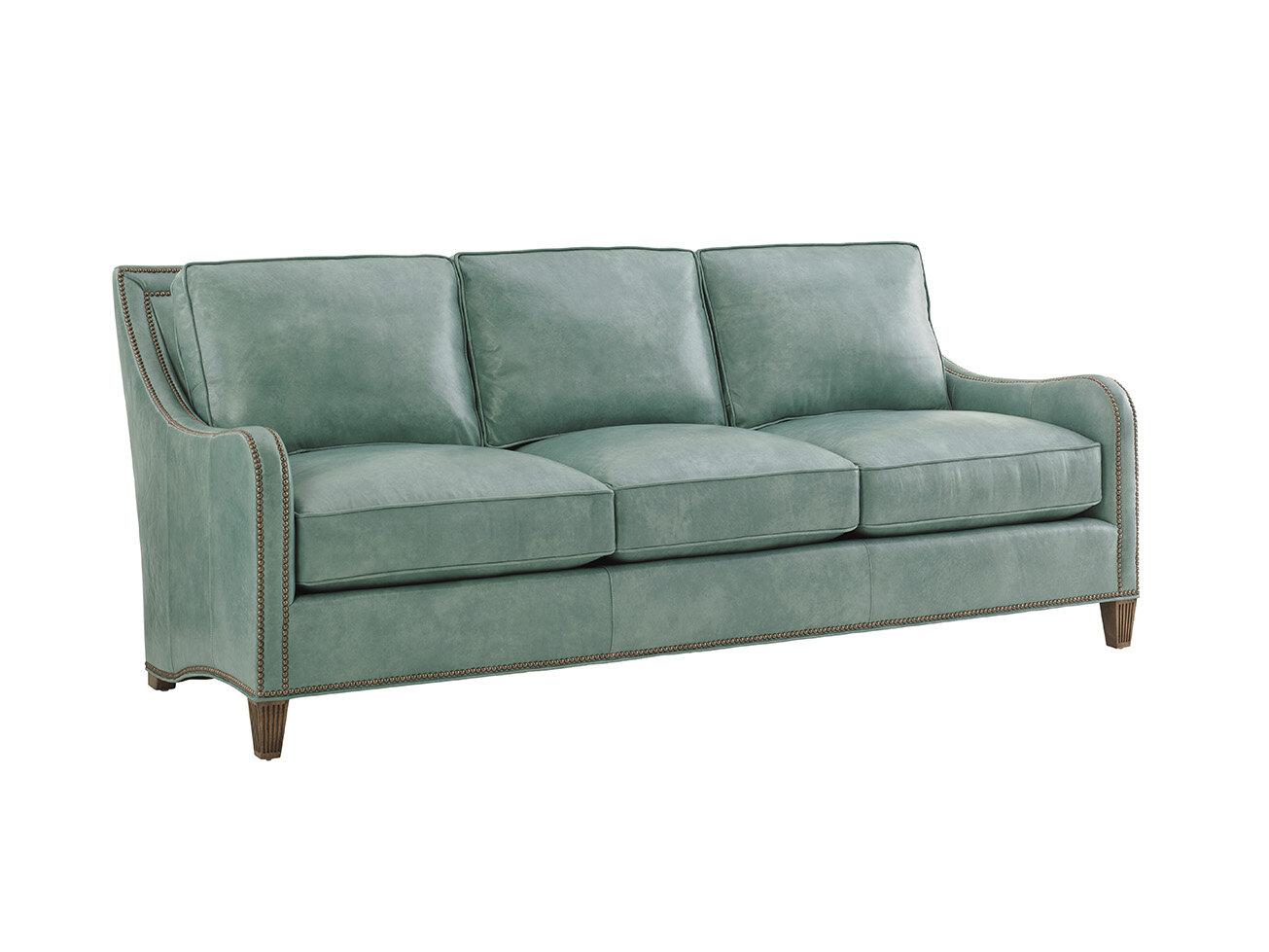 Twin Palms Leather Sofa | Joss & Main