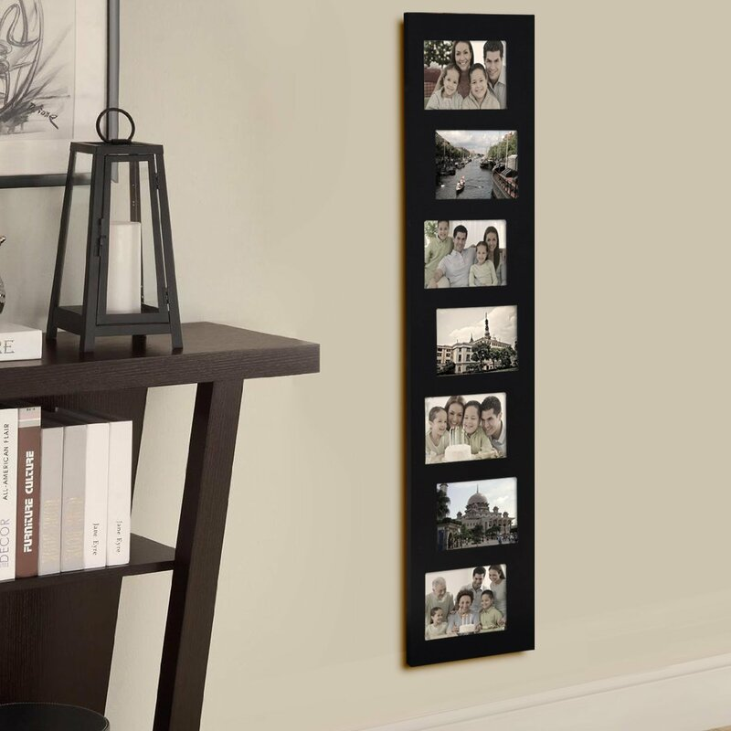 7 Opening Decorative Offset Wall Hanging Collage Picture Frame ...
