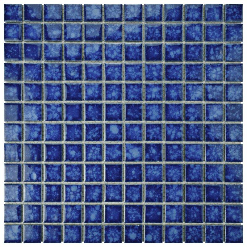 Avon 1 Quot X 1 Quot Porcelain Mosaic Tile In Pacific Amp Reviews