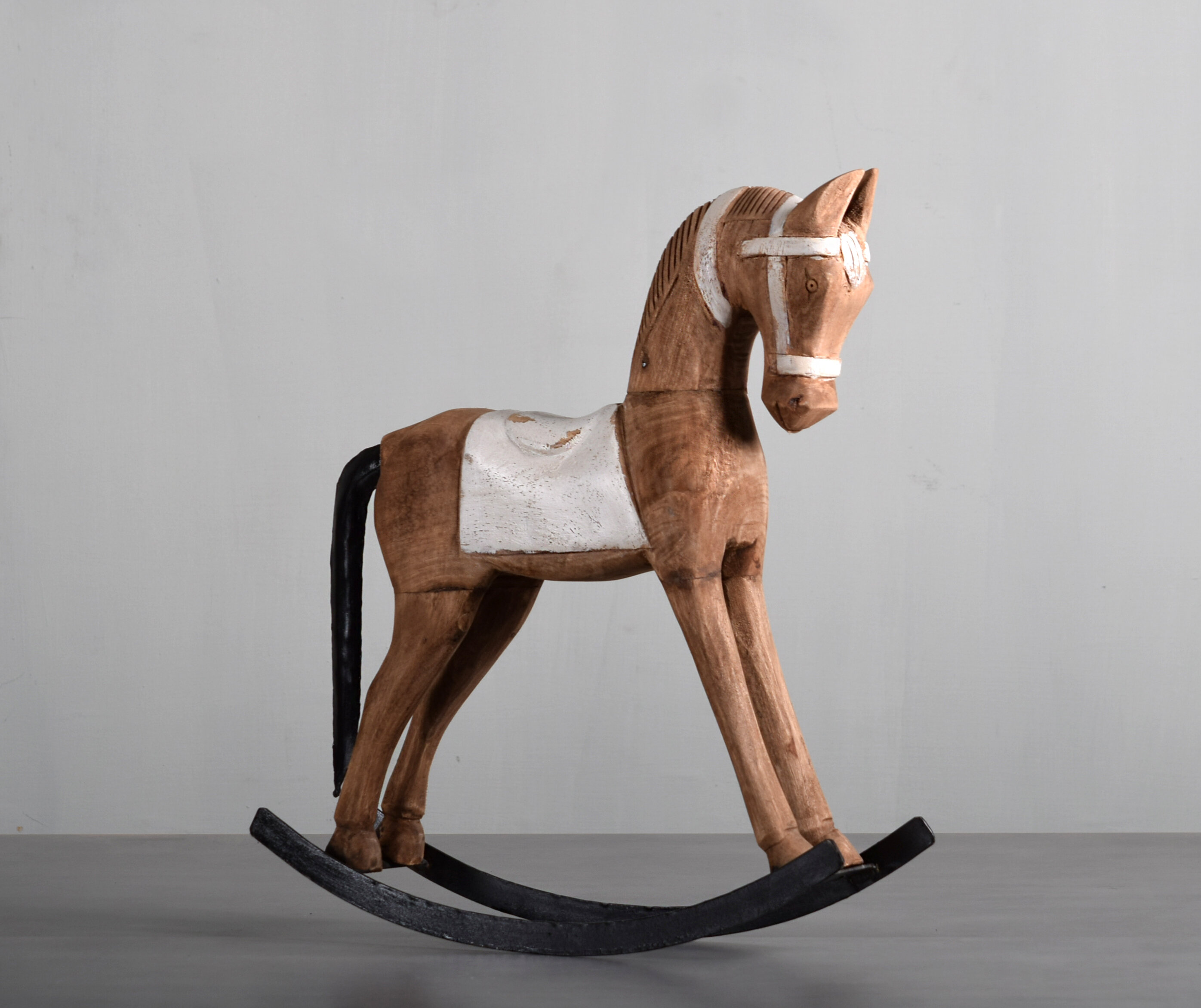 Trudell Wooden Rocking Horse