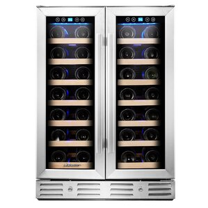 40 Bottle Dual Zone Built-In Wine Cooler by Kalamera