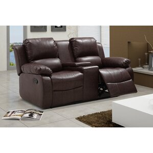 Reno Reclining Loveseat by Living In Style