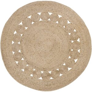 Summerland Hand-Woven Wheat Area Rug