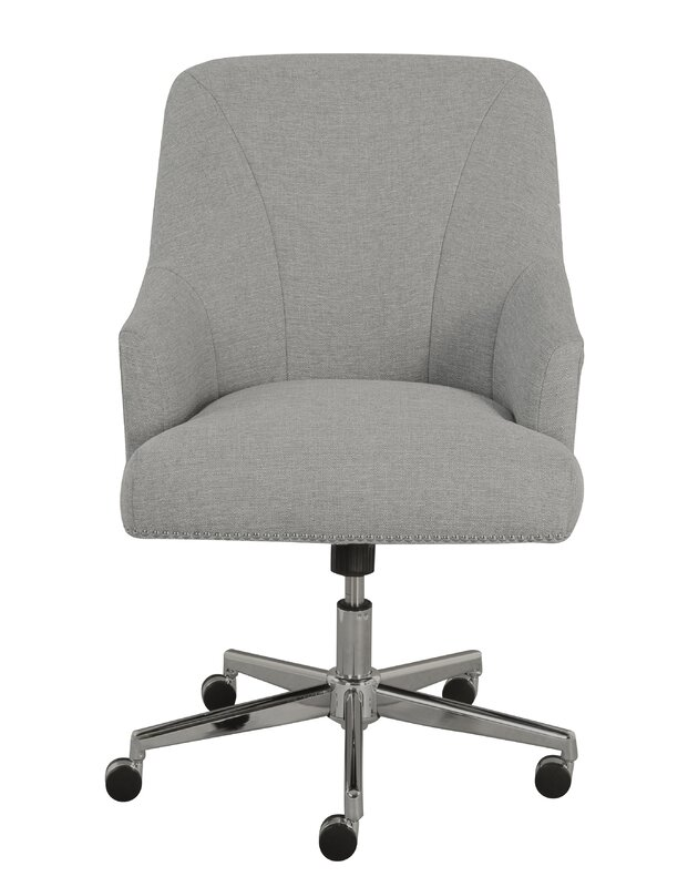 serta at home serta leighton mid-back desk chair & reviews | wayfair