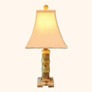 Onyx lamp wayfair cassini onyx 22 table lamp mozeypictures Images