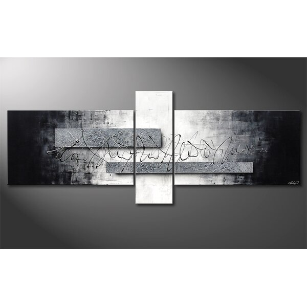 13882535a56 Black And Silver Wall Art