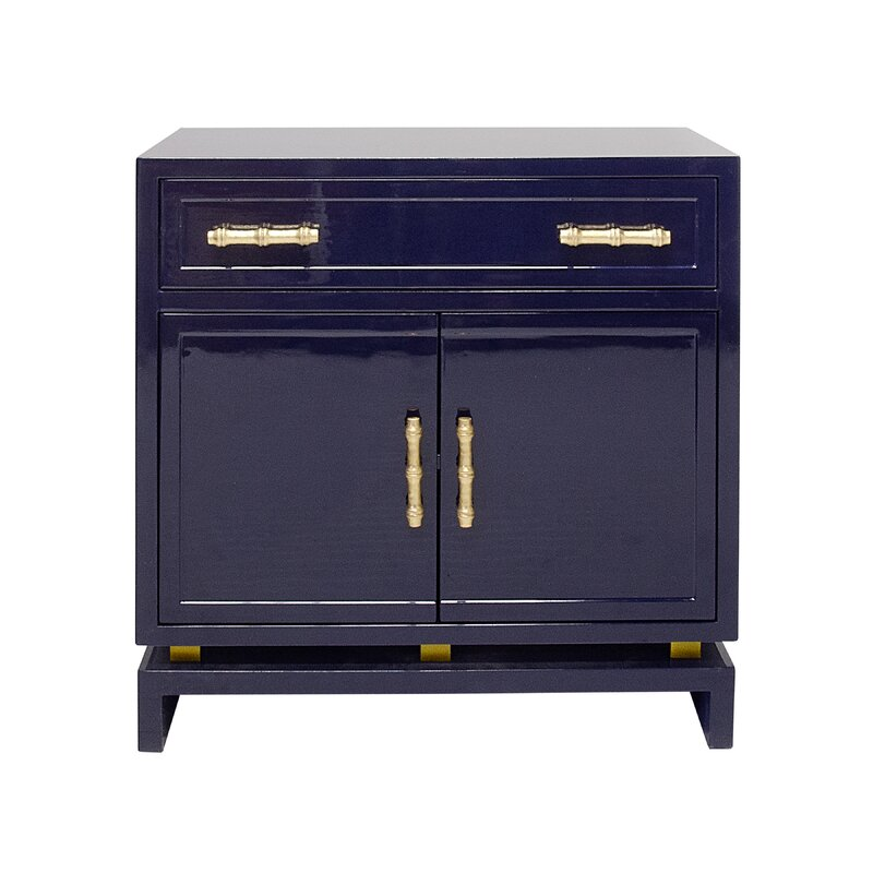Worldsaway 1 Drawer 2 Door Bachelor S Chest Perigold