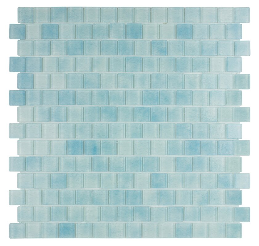 Quartz 0 75 X Gl Mosaic Tile In Light Blue