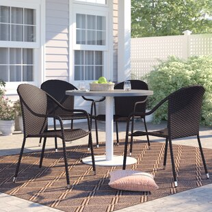 Belton Stacking Patio Dining Chair Set Of 4