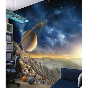 Galaxy Wall Mural astronomy & space wall decals you'll love | wayfair