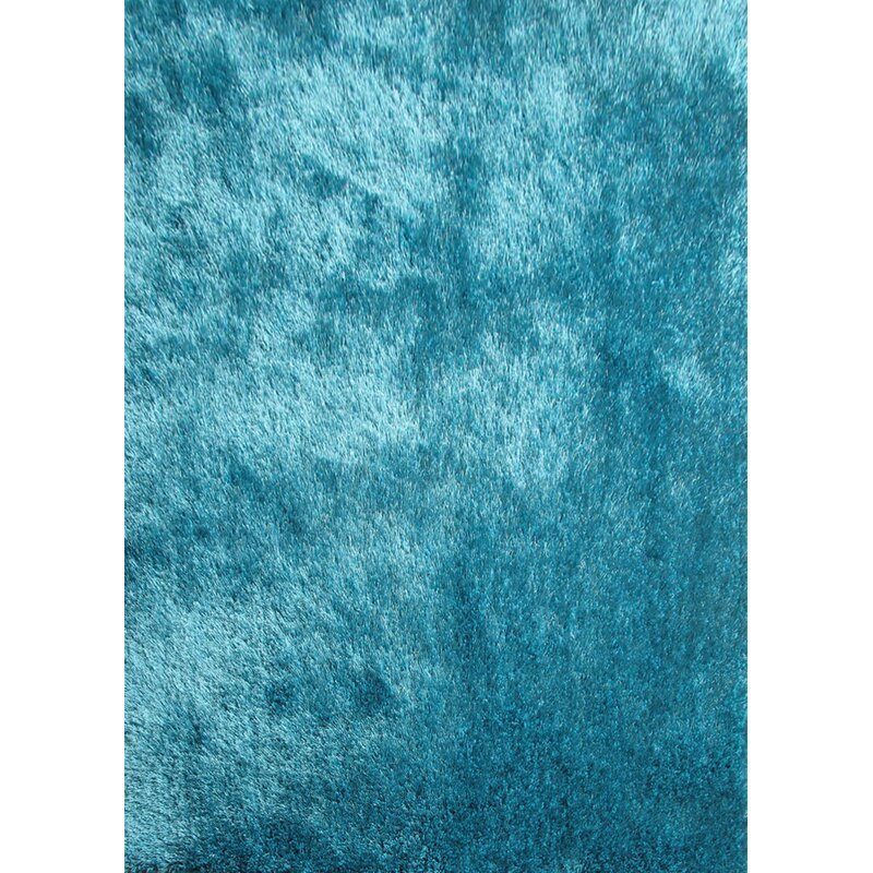 Gy Hand Tufted Turquoise Area Rug