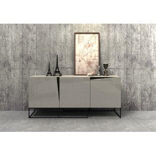 Sideboard Beige white high gloss sideboard wayfair