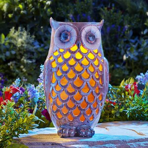 Owl Solar Light Statue