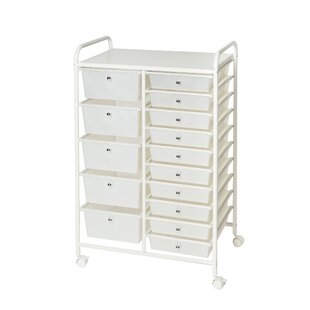 Rolling Craft Storage Cart Wayfair