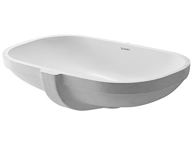 dcode oval undermount bathroom sink with overflow - Undermount Bathroom Sinks