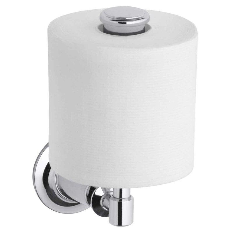 kohler archer vertical toilet tissue holder & reviews | wayfair