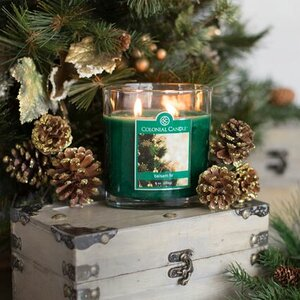 Balsam Fir Oval Scented Jar Candle