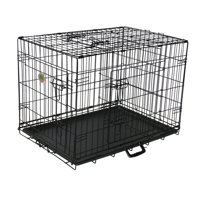 Go Pet Club 3 Door Pet Crate Reviews Wayfair