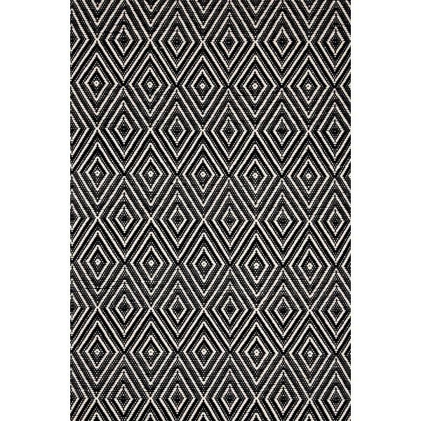 Dash And Albert Rugs Hand Woven Black Indoor/Outdoor Area Rug U0026 Reviews |  Wayfair