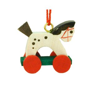 Buy Christian Ulbricht Horse on Wheels Ornament!