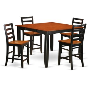 Parfait 5 Piece Counter Height Dining Set