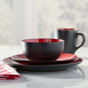 Save & Red Dinnerware Sets Youu0027ll Love | Wayfair