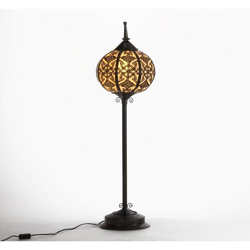 Oriental Steel 43 5 Floor Lamp