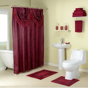 Shower Curtains With Matching Window Treatments.Shower Curtain And Valance Set Wayfair