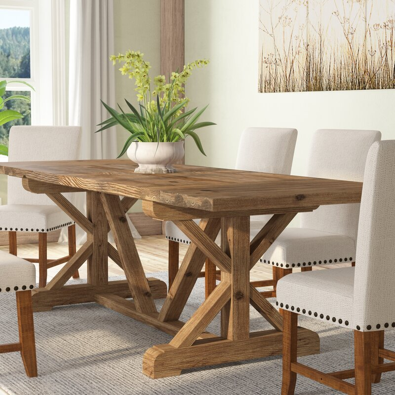 Superieur Gracie Oaks Camden Den Solid Wood Extendable Dining Table U0026 Reviews |  Wayfair