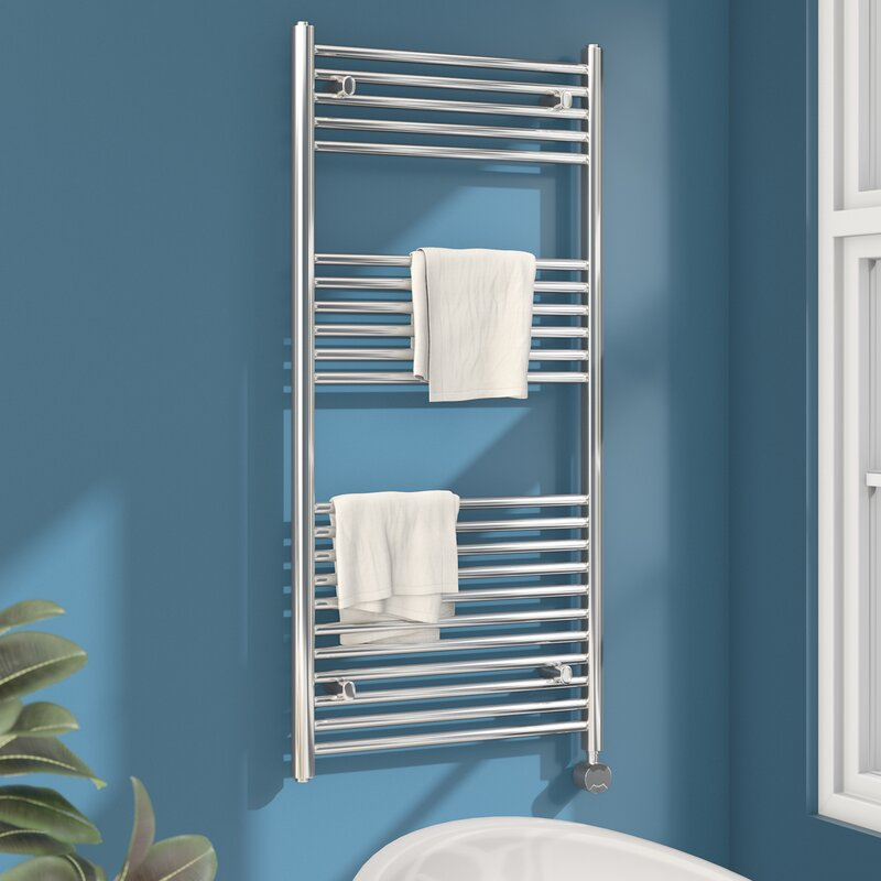 Richmond Thermostatic Wall-Mounted Electric Heated Towel Rail