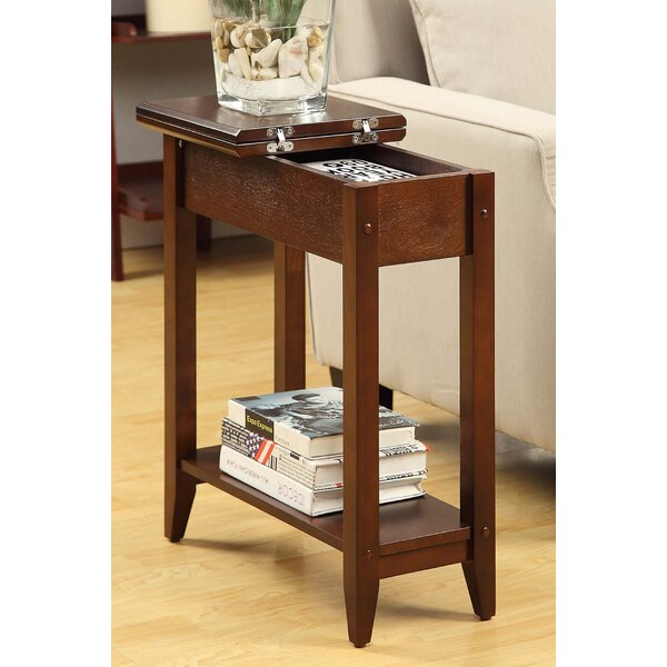 Charlton Home Williams Flip Top End Table With Storage U0026 Reviews | Wayfair