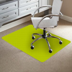 Wood Chair Mat For Carpet chair mats you'll love | wayfair