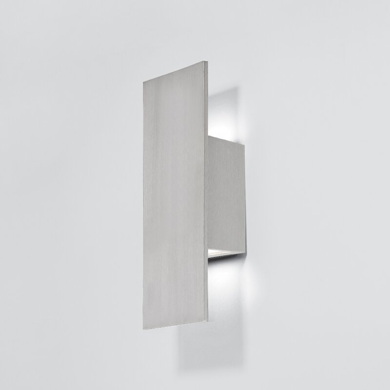 Icon 2 light led outdoor sconce reviews allmodern icon 2 light led outdoor sconce mozeypictures Choice Image