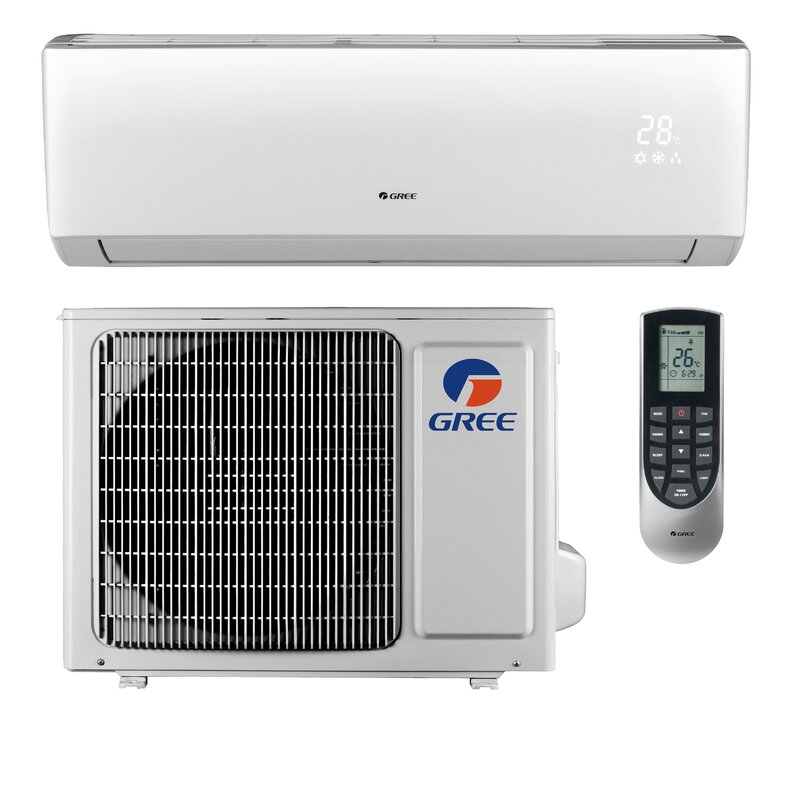 Livo 12,000 BTU Ductless Mini Split Air Conditioner with Heater and Remote