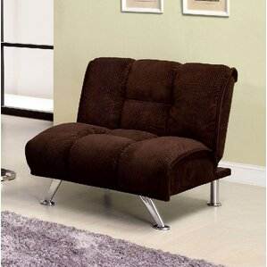 Colosy Tufted Padded Corduroy Convertible Chair by A&J Homes Studio
