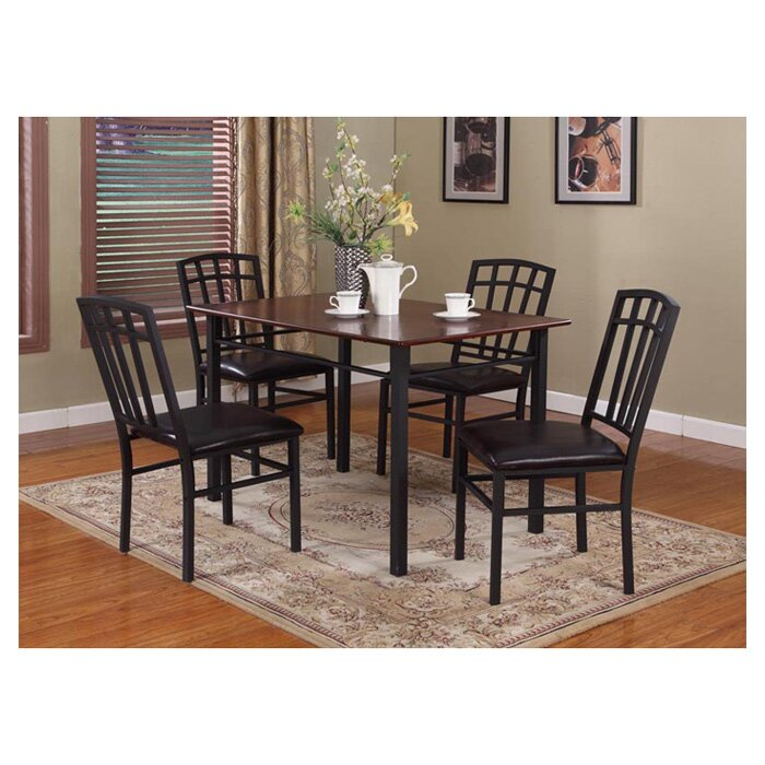 Troiano 5 Piece Dining Set