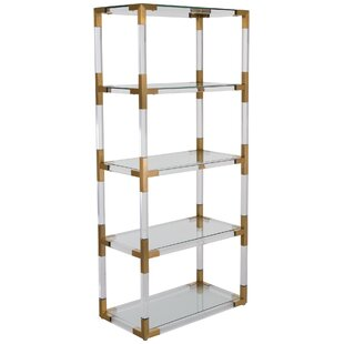lucite luxury metal contemporary bookcase acrylic on and bookshelf bookcases images vintage best pinterest furniture