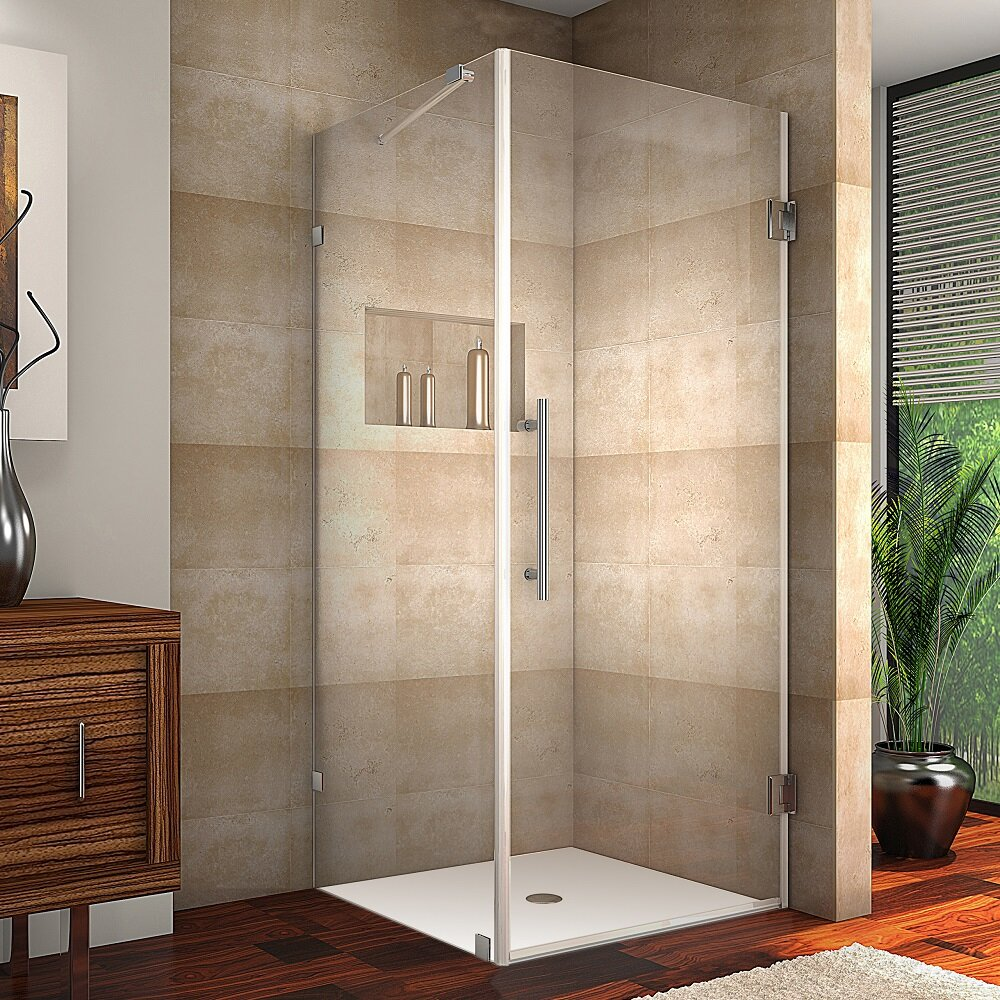Aston Aquadica 38 X 72 Hinged Frameless Shower Enclosure Reviews