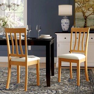Artin Rubberwood Side Chair (Set of 2)