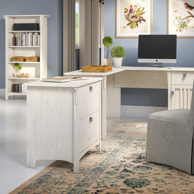 Ottman 3 Piece L Shaped Desk Office Suite