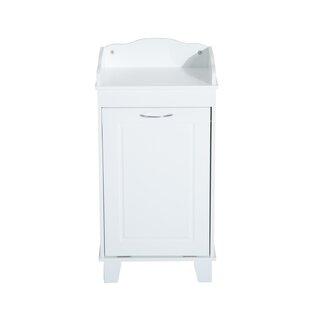 Incroyable Wooden Bathroom Cabinet Laundry Hamper