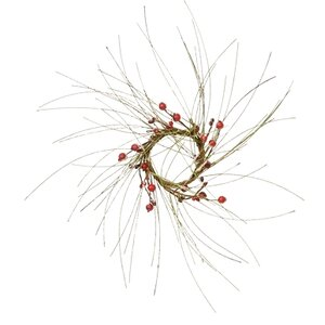 Snowpine Berry Candle Ring (Set of 4)