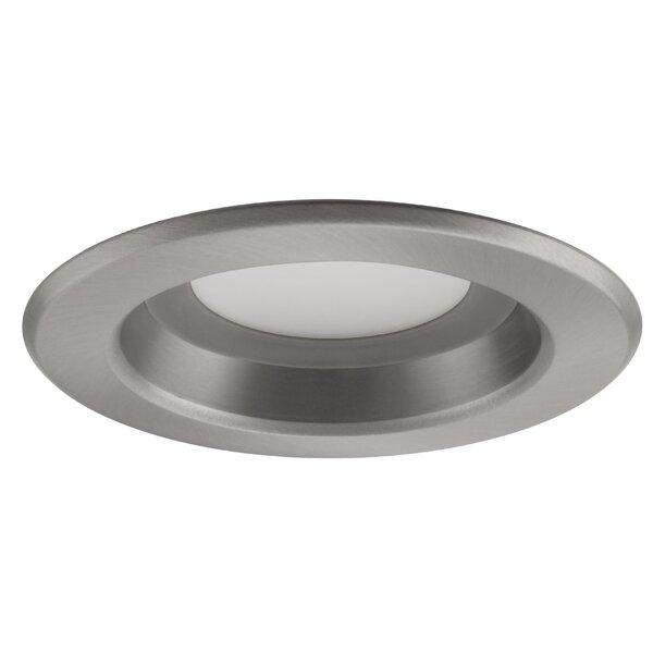 NICOR Lighting Baffle 4  LED Recessed Retrofit Downlight u0026 Reviews | Wayfair  sc 1 st  Wayfair & NICOR Lighting Baffle 4