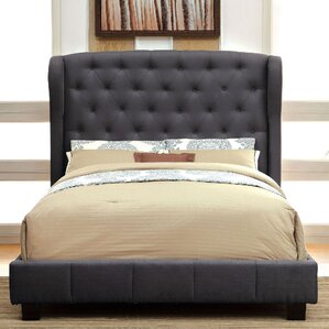 Upholstered Panel Bed by A&J Homes Studio